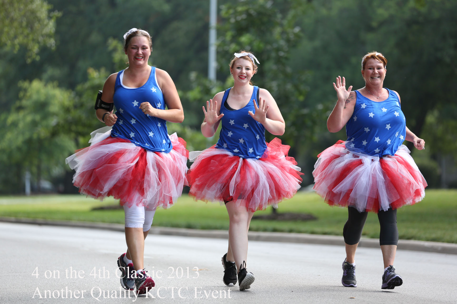 Tutus on July 4th, For Four on the Fourth Ward Parkway, Kansas City